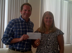 Lake Sun Check Presentation For Deal Of Day Proceeds Aug 2011